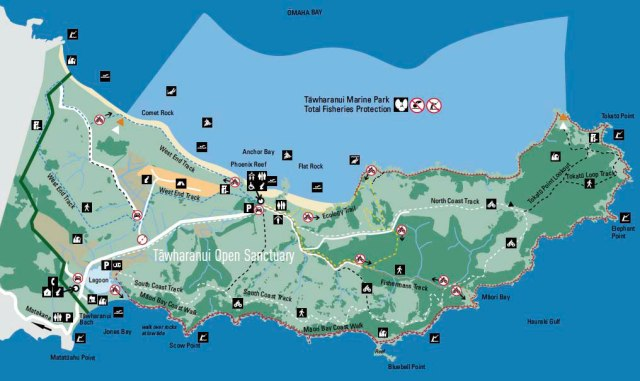 NZ-Park-Trail-Map